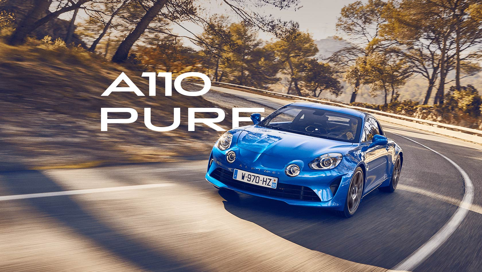 The A110 Pure