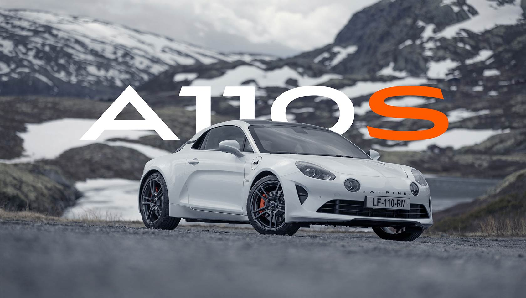 A110S, INTENSELY ALPINE